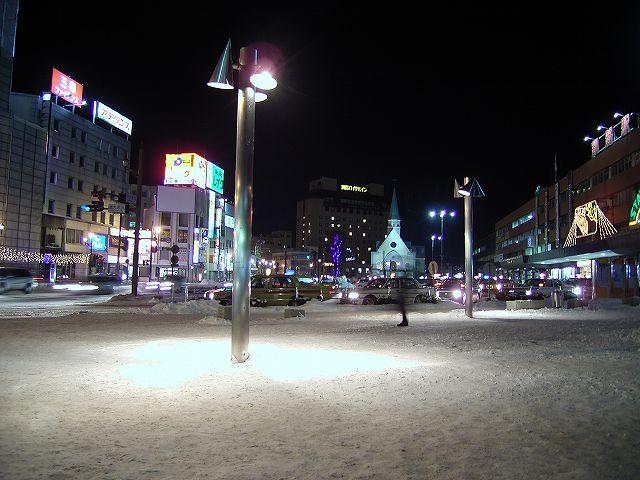 釧路駅前広場