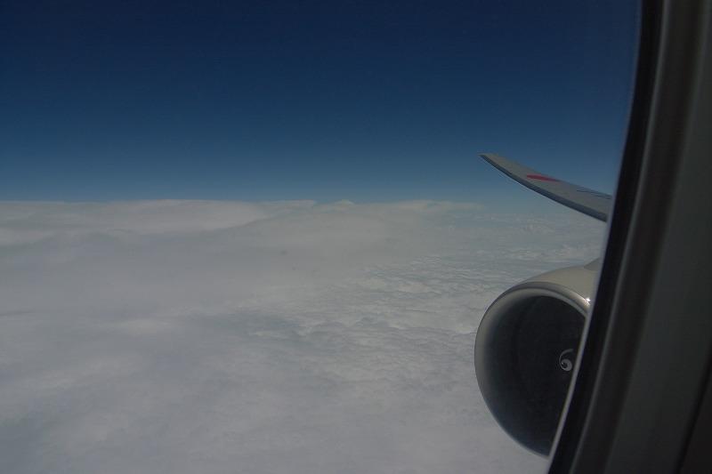 ロシア上空